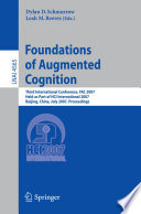 Foundations of Augmented Cognition Book