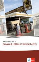 Lekt  rewortschatz Zu Crooked Letter  Crooked Letter