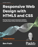 Responsive Web Design with HTML5 and CSS [Pdf/ePub] eBook