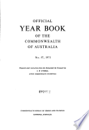 Official Year Book Of The Commonwealth Of Australia No 57 1971