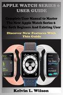 Apple Watch Series 6 User Guide Book
