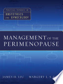 Management of the Perimenopause Book