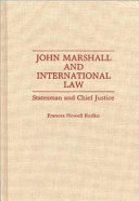 John Marshall And International Law