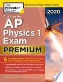 Cracking the AP Physics 1 Exam 2020  Premium Edition