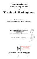 International Encyclopaedia of Tribal Religion  Oracles  omens and dreams