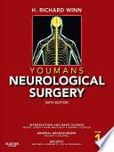 """""""Youmans Neurological Surgery E-Book"""" by H. Richard Winn"""