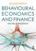 Pdf Behavioural Economics and Finance Telecharger