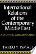 International Relations of Contemporary Middle East Book PDF