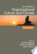 The Handbook of Organizational Culture and Climate Book