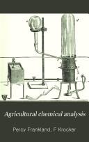 Agricultural Chemical Analysis