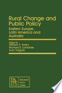 Rural Change and Public Policy