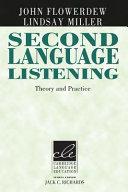 Second Language Listening