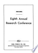 Proceedings, ... Annual Research Conference