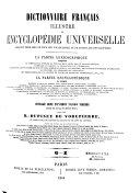 Dictionnaire français illustré et encyclopédie universelle...