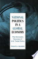 National Politics in a Global Economy
