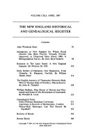 The New England Historical and Genealogical Register - Seite 154