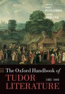 The Oxford Handbook of Tudor Literature ebook