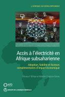Pdf Accès à l'électricité en Afrique subsaharienne Telecharger