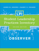 The Student Leadership Practices Inventory  LPI   Observer Instrument