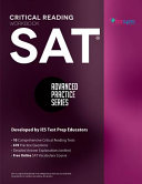 SAT Critical Reading Workbook