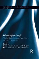 Reframing Disability?