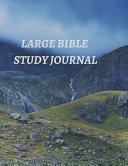 Large Bible Study Journal