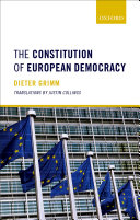 The Constitution of European Democracy Pdf/ePub eBook