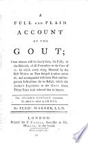 A Full And Plain Account Of The Gout Book PDF