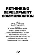 Rethinking Development Communication Book