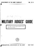 Military Judges  Guide