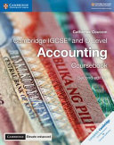 Books - New Cambridge IGCSE And O Level Accounting Coursebook With Cambridge Elevate Enhanced Edition (2Yr) | ISBN 9781108339179
