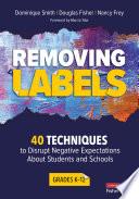 Removing Labels  Grades K 12