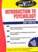Schaum s Outline of Introduction to Psychology