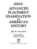 Pdf Advanced Placement Examination in American History