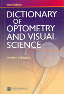 Dictionary of Optometry and Visual Science Book