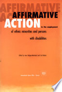 Affirmative Action In The Employment Of Ethnic Minorities And Persons With Disabilities