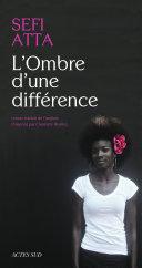 L'Ombre d'une différence Pdf/ePub eBook