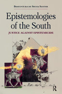 Epistemologies of the South Pdf/ePub eBook