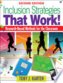 Inclusion Strategies That Work  Book