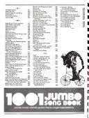 1001 Jumbo Song Book Book