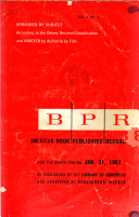 American Book Publishing Record Book