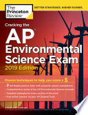 Cracking the AP Environmental Science Exam  2019 Edition Book