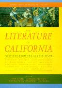 Pdf The Literature of California: Native American beginnings to 1945