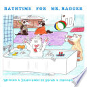 Bathtime for Mr  Badger Book PDF