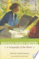 Montana Women Writers