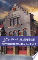Love Inspired Suspense November 2014 - Box Set 2 of 2