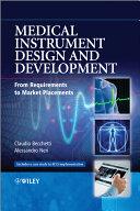 Medical Instrument Design and Development Pdf/ePub eBook