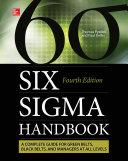 Six Sigma Handbook  Fourth Edition  ENHANCED EBOOK