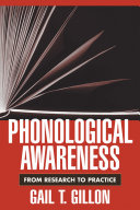 Cover of Phonological Awareness