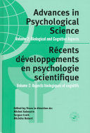 Advances in Psychological Science